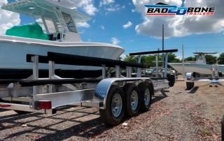 Maintenance boat trailers