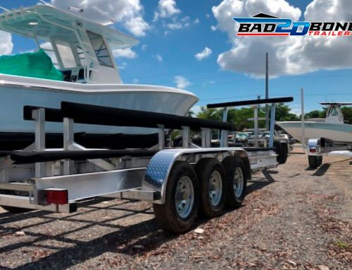 Maintenance of boat trailers