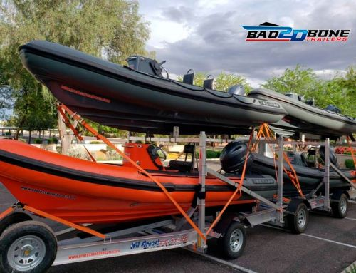 Custom boat trailers