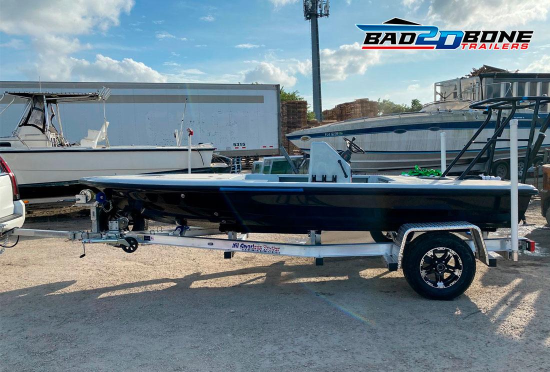 BAD 2D BONE TRAILERS, Aluminum Boat Trailers