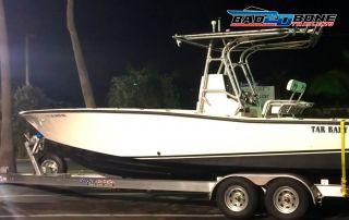 Boat trailer light