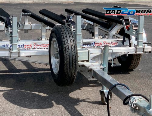 Wheels, one of the most important parts of the boat trailer