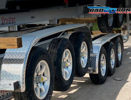 Boat trailer tires and rims