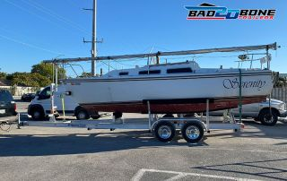 sailboat trailer